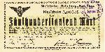 Bon B34 (rodzaj obligacji) z VIII 1923 r. Emisja spółki kolei szprotawskiej. Wykupywało się go w X-XI 1923 w kasach kolejowych lub lokalnych bankach (kasach) Z. Góry i Szprotawy. Zdjęcie udostępnił kolekcjoner Jan Boguś (patrz zakładka LITERATURA)