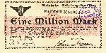 Bon B35 (rodzaj obligacji) z VIII 1923 r. Emisja spółki kolei szprotawskiej. Wykupywało się go w X-XI 1923 w kasach kolejowych lub lokalnych bankach (kasach) Z. Góry i Szprotawy. Zdjęcie udostępnił kolekcjoner Jan Boguś (patrz zakładka LITERATURA)